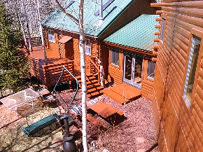 Log Cabin Restoration in Breckenridge, CO
